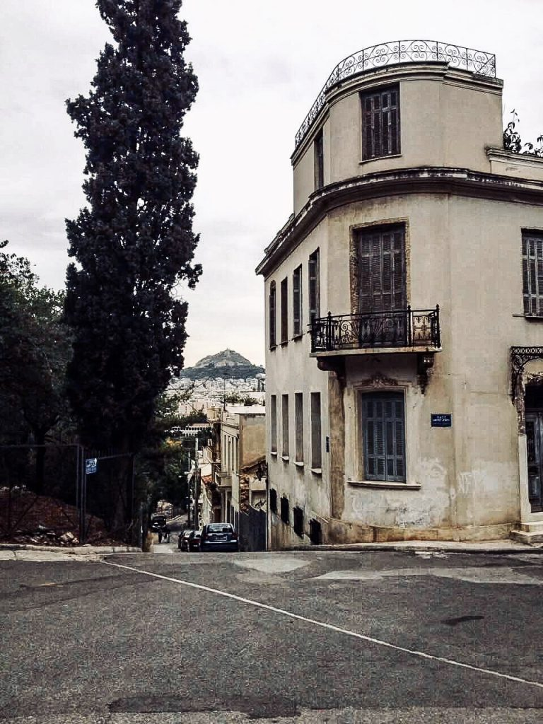 Lonely athens