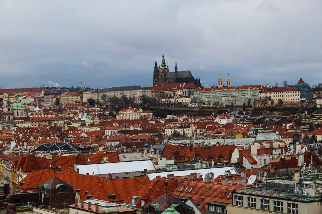 View from Astronomical Clock